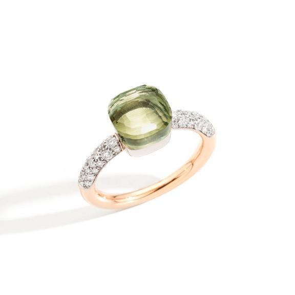 Pomellato-Nudo kleiner Ring-PAB7040O6WHRDB0PA