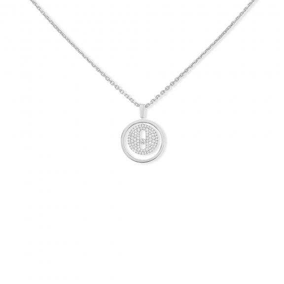 Messika-Lucky Move PM Pavé Collier-07397-WG