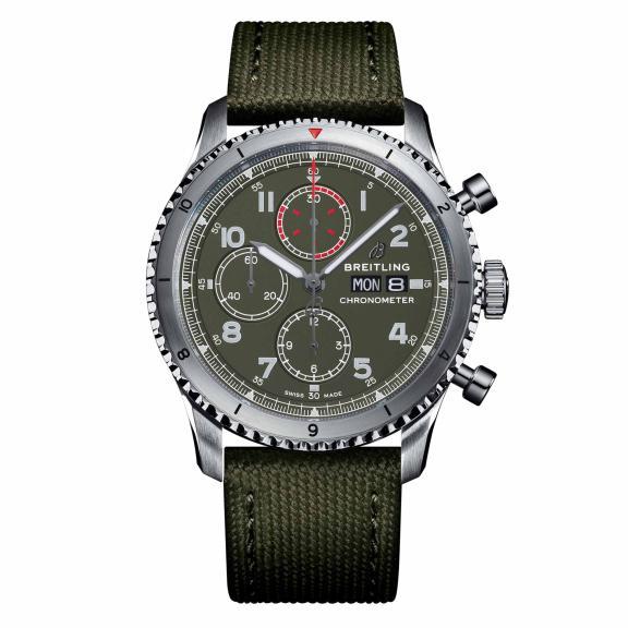 Breitling-Aviator 8 Chronograph 43 Curtiss Warhawk-A133161A1L1X2-1