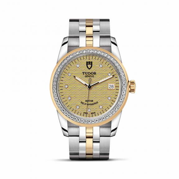TUDOR-Glamour Date-M55023-0028