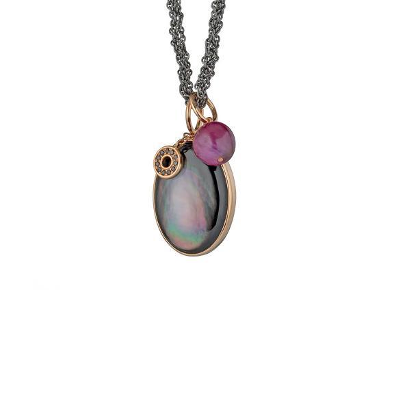 Gellner-Melange Halskette-5-23100-01