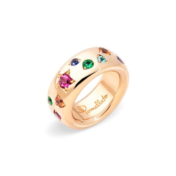 Pomellato-Iconica Klassischer Ring Color-PAB9011O7000000VA