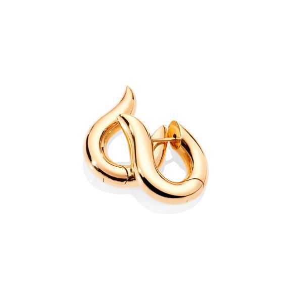Tamara Comolli-SIGNATURE Hoop Ohrringe small 18K Gelbgold-E-Ho-s-yg-1