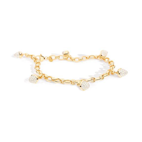 Tamara Comolli-Mikado Charm Diamant Pavé Armband-B-MC-ch-p-yg-1