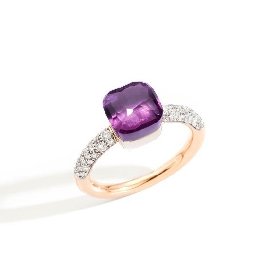 Pomellato-Nudo kleiner Ring-PAB7040O6WHRDB0OI