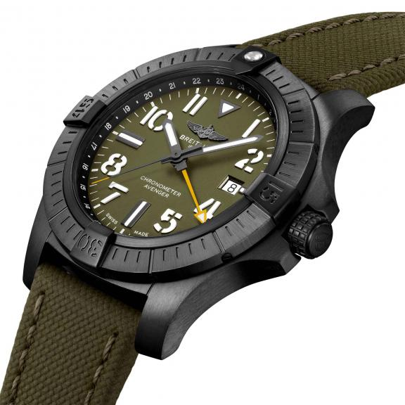 Breitling-Avenger Automatic GMT 45 Night Mission Limited Edition-V323952A1L1X2-3