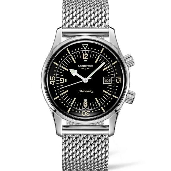 Longines-The Longines Legend Diver Watch-L3.774.4.50.6-1