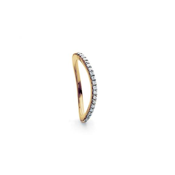 Ole Lynggaard Copenhagen-Love Band Ring Curved-A2601-409