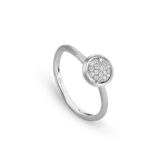 Marco Bicego-Jaipur Ring Oro E Diamanti-AB471 B W