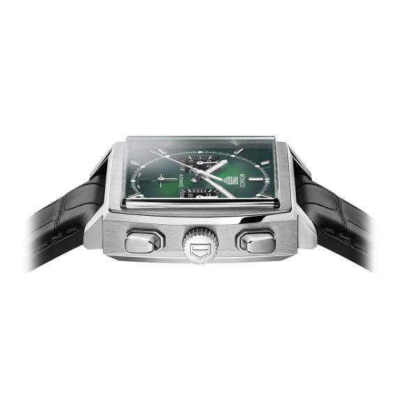 TAG Heuer-Monaco mit grünem Zifferblatt-CBL2116.FC6497-4