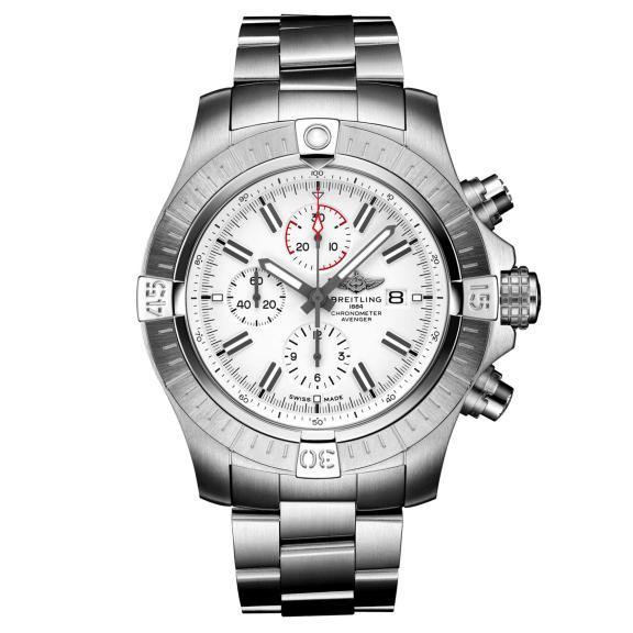 Breitling-Super Avenger Chronograph 48-A133751A1A1A1-1