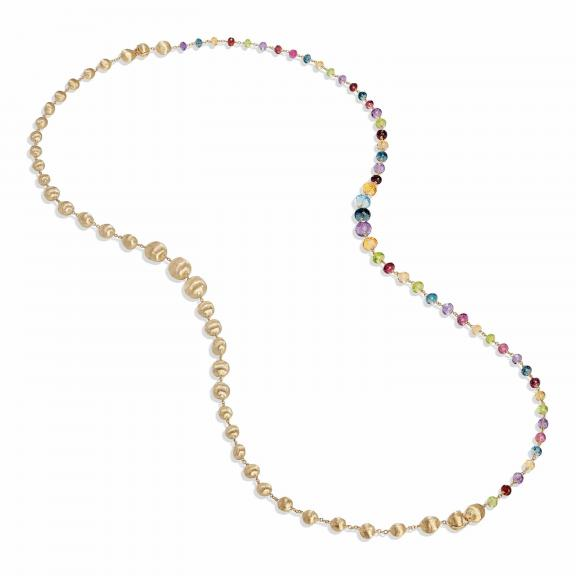 Marco Bicego-Africa Gemstone Halskette-CB2357 MIX02 Y-1