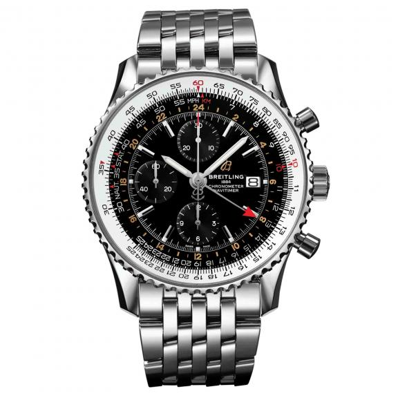 Breitling-Navitimer Chronograph GMT 46-A24322121B2A1