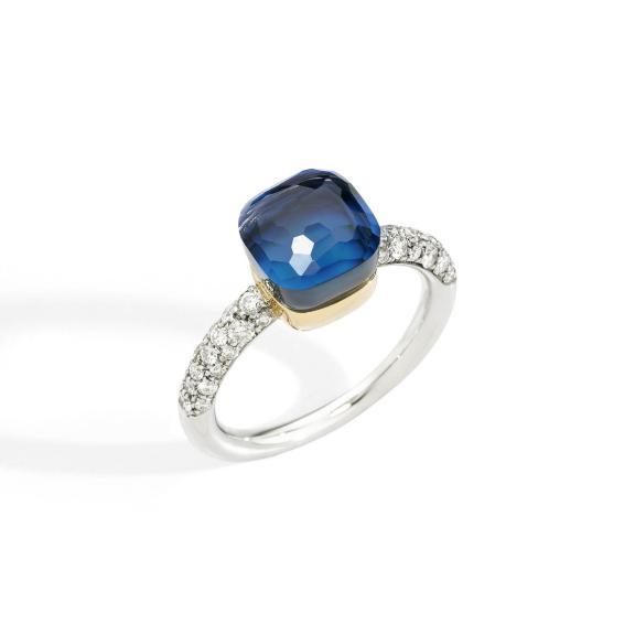 Pomellato-Nudo Deep Blue kleiner Ring-A.C016B9O6TTU