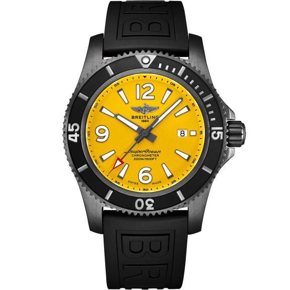 Breitling-Superocean Automatic 46 Blacksteel-M17368D71I1S1