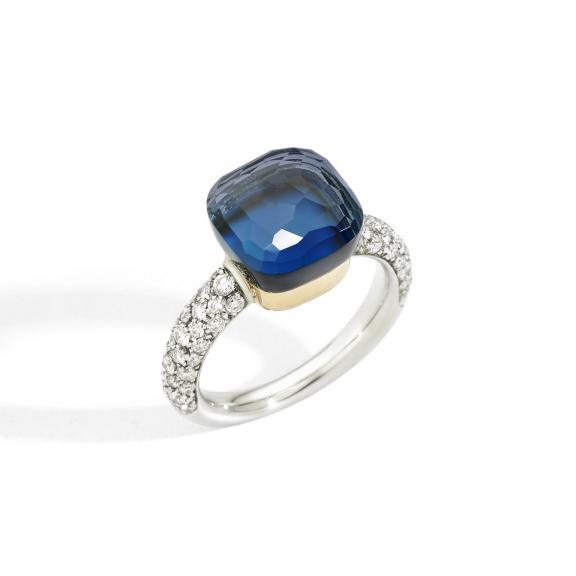 Pomellato-Nudo Deep Blue klassischer Ring-PAC0040O6WHRB0TTU