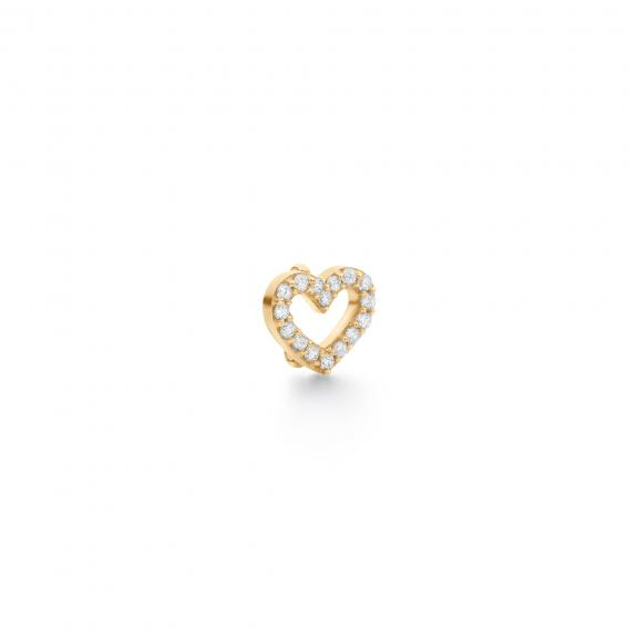 Ole Lynggaard Copenhagen-Sweet Spot Heart Charm Small-A2704-402