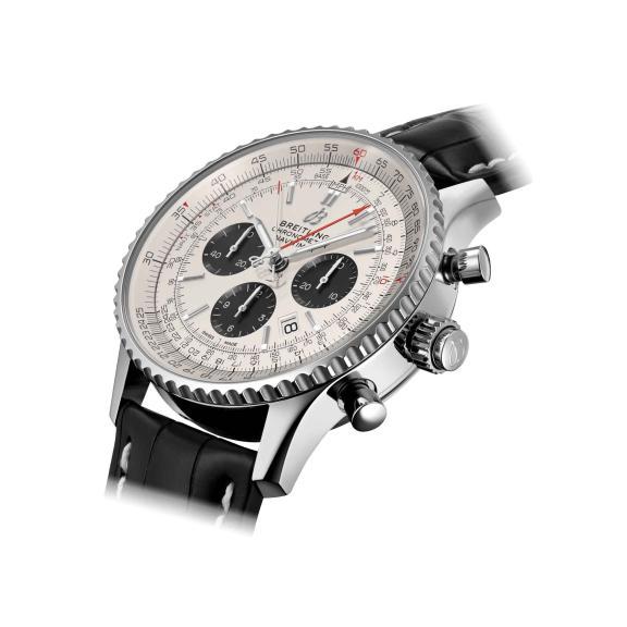 Breitling-Navitimer B03 Chronograph Rattrapante 45-AB0311211G1P1-3