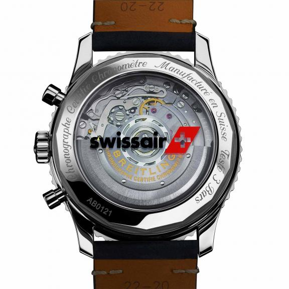 Breitling-Navitimer 1 B01 Chronograph 43 Swissair Edition-AB01211B1B1X1-2