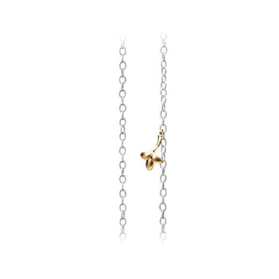 Ole Lynggaard Copenhagen-Lotus Halskette Twisted Anchor Chain Thin-C2008-505