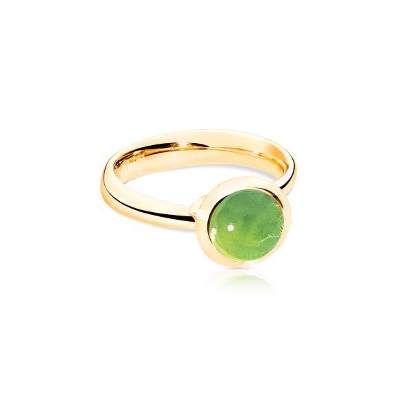 Tamara Comolli-BOUTON Ring small Peridot-R-BOU-s-Per-yg-1