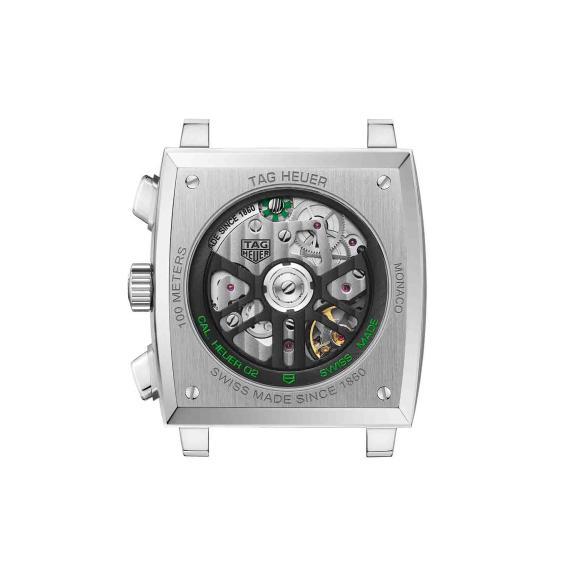 TAG Heuer-Monaco mit grünem Zifferblatt-CBL2116.FC6497-5