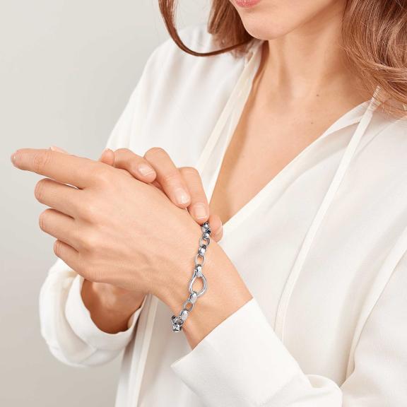 Tamara Comolli-DROP Armband 18 K Weißgold-B-Dr-s-wg-2