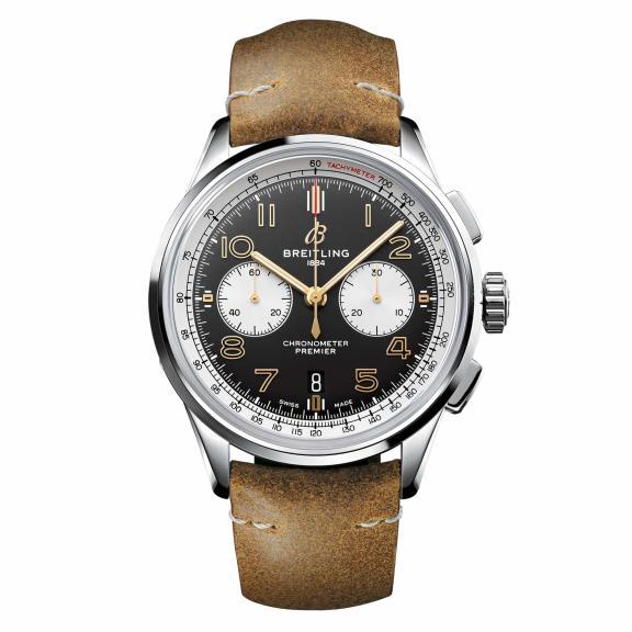 Breitling-Premier B01 Chronograph 42 Norton Edition-AB0118A21B1X1