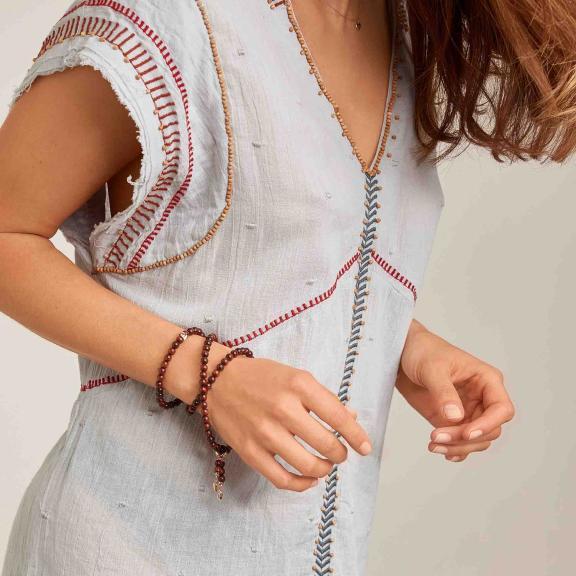 Tamara Comolli-INDIA Armband medium Snakewood-B-IND-SW-m-rg-2
