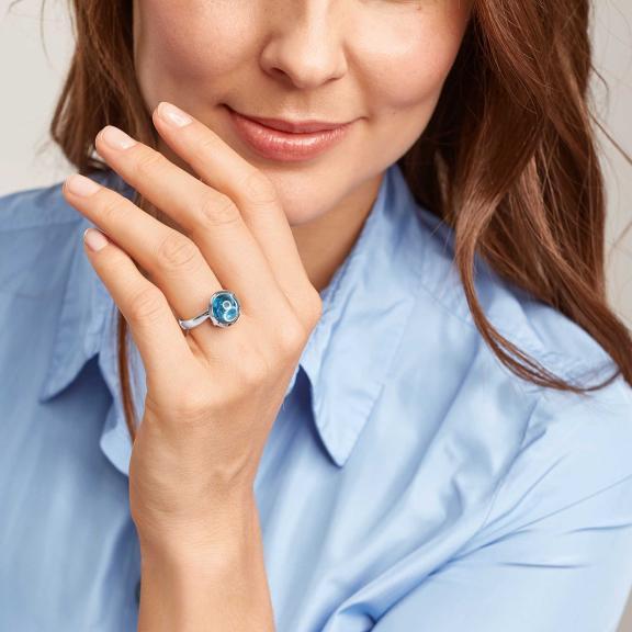 Tamara Comolli-BOUTON Ring large Swiss Topas-R-BOU-l-ToSw-wg-3
