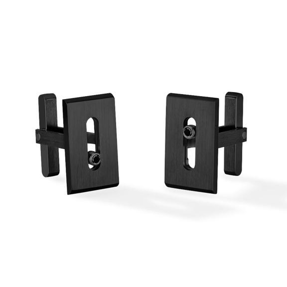 Messika-Move Titanium Black Manschettenknöpfe-6765