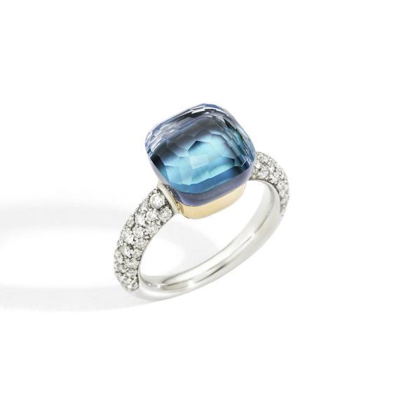Pomellato-Nudo Deep Blue klassischer Ring-PAC0040O6WHRB0YAV