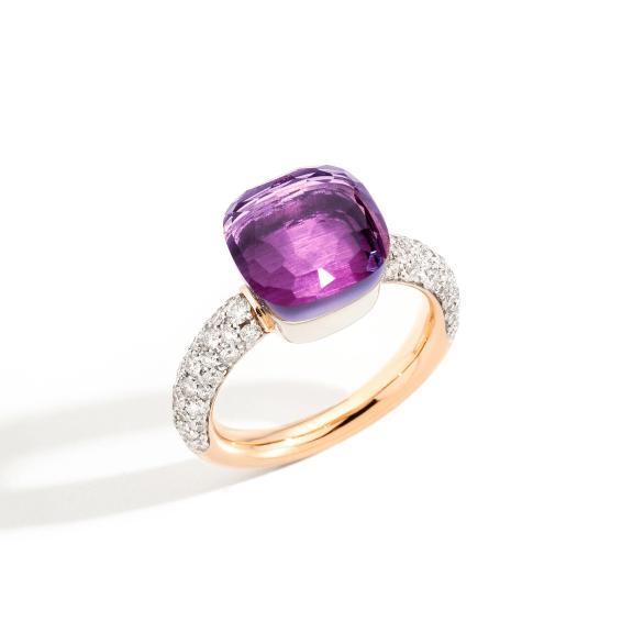 Pomellato-Nudo Ring Classic-PAC0040O6WHRDB0OI