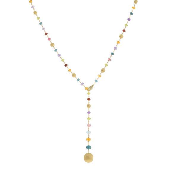 Marco Bicego-Africa Gemstone Halskette-CB2344 B MIX02 Y