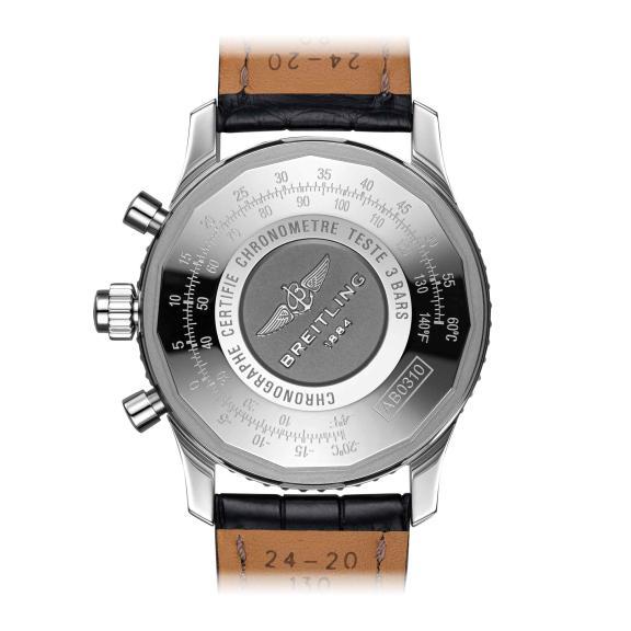 Breitling-Navitimer B03 Chronograph Rattrapante 45-AB0311211G1P1-2