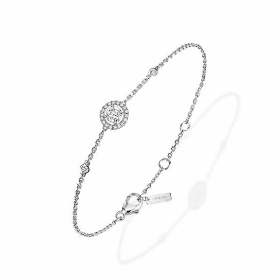 Messika-Joy Diamant Rond Armband-04288-WG