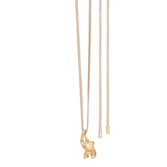Ole Lynggaard Copenhagen-My Little World Circus Elephant Charm Armband-A2833-401-4