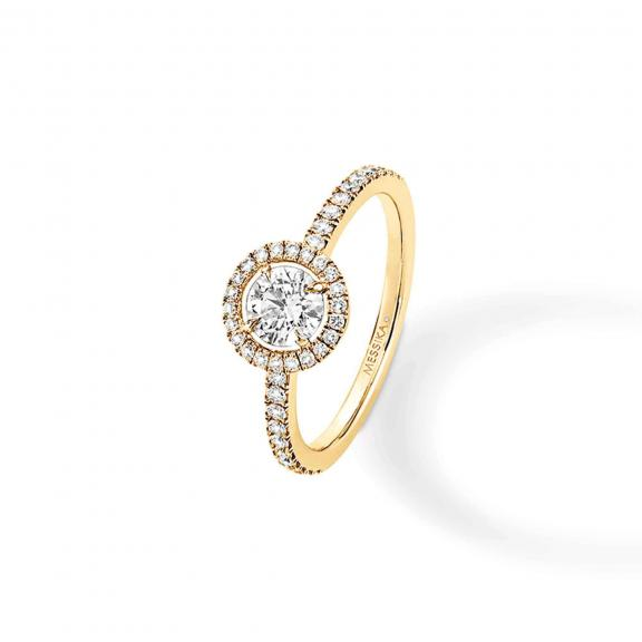 Messika-Joy Diamant Rond Ring-04155-YG