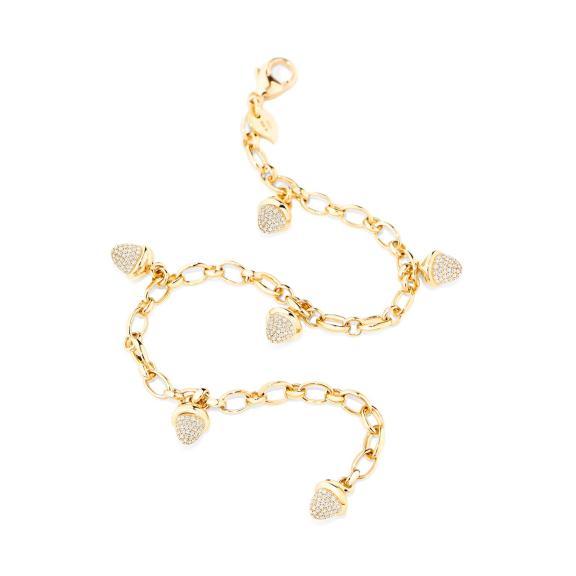 Tamara Comolli-Mikado Charm Diamant Pavé Armband-B-MC-ch-p-yg-2
