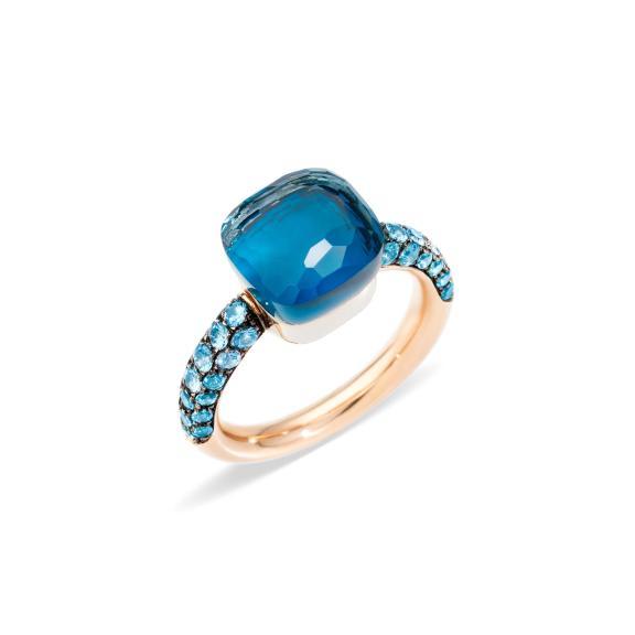 Pomellato-Nudo Deep Blue Ring-PAB9040O6000TTBTL