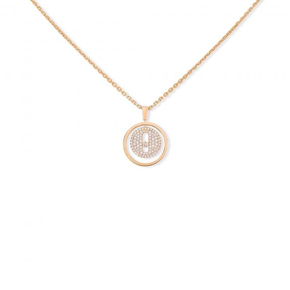 Messika-Lucky Move PM Pavé Collier-07397-PG