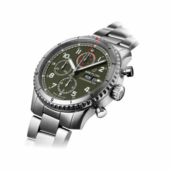 Breitling-Aviator 8 Chronograph 43 Curtiss Warhawk-A133161A1L1A1-3