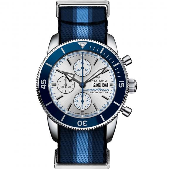 Breitling- Superocean Heritage Chronograph 44 Ocean Conservancy Limited Edition-A133131A1G1W1-1