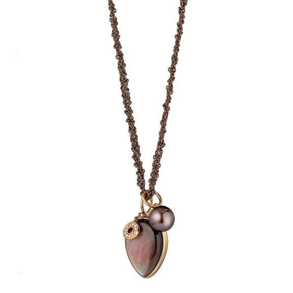 Gellner-Melange Halskette-5-23101-01