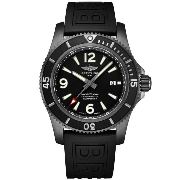 Breitling-Superocean Automatic 46 Blacksteel-M17368B71B1S1