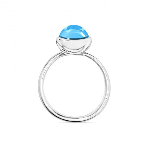 Tamara Comolli-BOUTON Ring small Swiss Topas-R-BOU-s-ToSw-wg-2